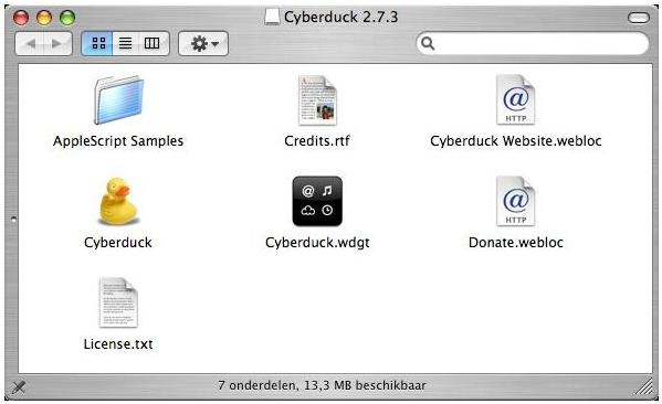 Download Cyberduck FTP