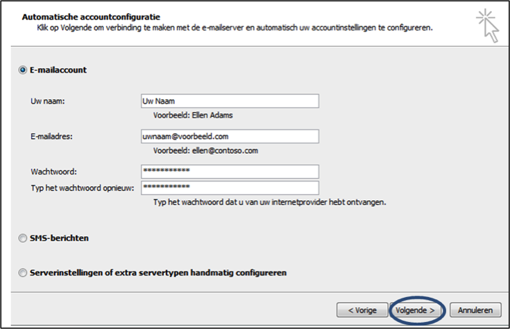 Autodiscover voor e-mail