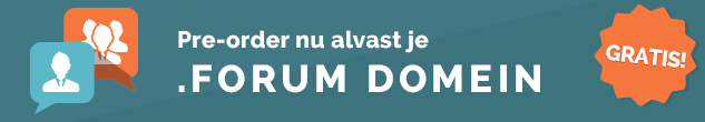 .forum domeinnaam registreren