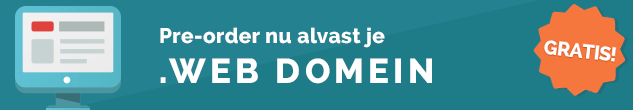 .Web domeinnaam registreren