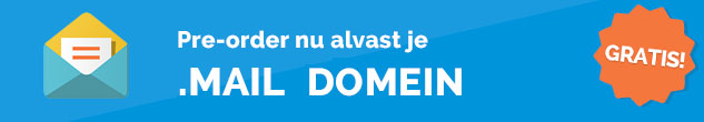 .mail domeinnaam pre-registreren