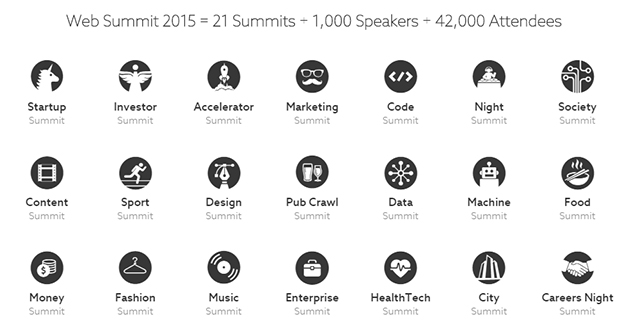 Web summit 2015 summits