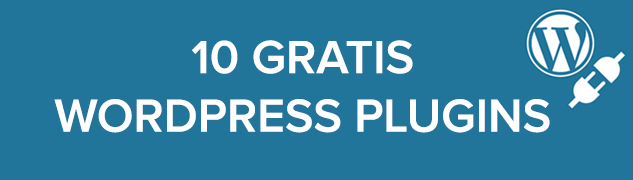 10 gratis WordPress plugins